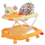 Cheap Big Wheels Baby Walker with Seat and Footrest