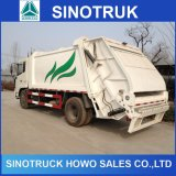 HOWO 16m3 12m3 Compressed Waste Garbage Compactor Truck for Sale