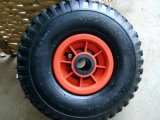 Factory Price Pneumatic Rubber Wheel (350-4)