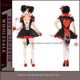 Wholesale Hearts of Queen Fashion Sexy Hallowen Costume (TBLS368)