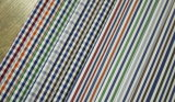 Stripes&Checks Comfortable Yarn Dyed Shirt Fabric