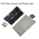 15W Integrated All in One Solar Powered Street Lighting