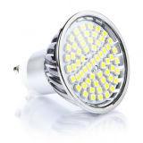 Dimmable 230V 60 SMD Glass Covered 4.5 Watt GU10 LED Bulb