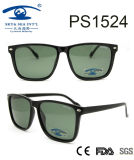 2017hot Sale Classical Style Popular Frame Plastic Sunglasses (PS1524)