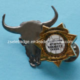 Custom Bull Zinc Alloy Pin on Pin (Ele-P047)