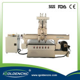 3D Wood Cutting CNC Machine with Rotary