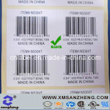 Custom Self Adhesive Pet Heat Resistant Clear Glossy Barcodes Stickers