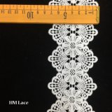7.5cm Wholesale Eyelash Lace China Handcut Voile Lace Trimming for Garment Hmhb998