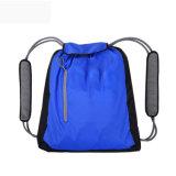 Outdoor Folding Waterproof Double Shoulder Drawstring Bag