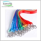 0.8mm Promotional Gift Muti-Color Choose Customized Logo Neck Strap