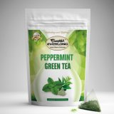 Peppermint Green Tea for Daily Use