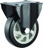 4/5 Inch PVC Rigid Caster Wheel for Hand Truck