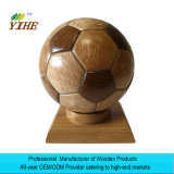 Football Gift Made by Solid Wood