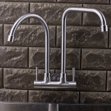 Double Head Wall Mounted SUS304 Kitchen Tap