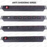 19 Inch Anti-Shedding Series Universal Socket Network Cabinet and Rack PDU (1)