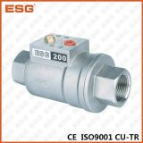 Pneumatic Control Shuttle Valve with Bsp Thread