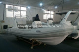 High Speed Marine Entertainment High Air Tightness 17 Feet Rib Boat