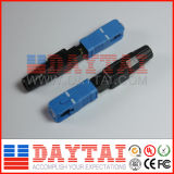 Sc/Upc Fiber Optic Fast Connector for FTTH