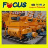 Hot Sale Js500 500L Smalltwin Shaft Concrete Mixer
