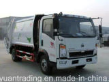 HOWO 4*2 Garbage Compactor Truck