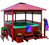 Outdoor Waterproof Whirlpool Hot Tub Garden Gazebo (SR888)