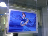 Double Side Magnetic LED Advertising Light Box with Carved Logo