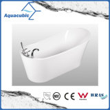 Bathroom Pure Acrylic Seamless Freestanding Bathtub (AB6509)