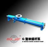 G Series Single- Screw Mono Slurry Pump