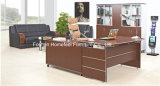 Anti-Scratch Wooden Office Manager Table Furniture (HF-B205)