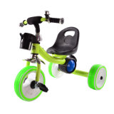Toy Vehicle Iron Material PP Wheels Baby Tricycle