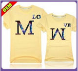 Fashion Nice Embroidery T-Shirt for Women (W214)