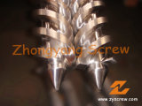 45/90 Conical Twin Screw and Barrel for PVC Pipe Extruder