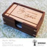 Hongdao Custom Special Design Wooden Business Card Box Wholesael_L