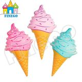 Finego Water Toy Inflatable Pizza Icecream Popsicle Floating Pool Float