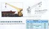 Single Arm Slewing Boat/Raft Davit/Launching Appliance&Crane