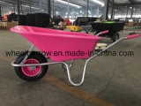 Heavy Duty Wheelbarrow with Plastic Tray (WB6414-1)