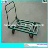Powder Coating Metal Pipe Handcart Mobile Trolley
