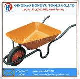 Metal Tray Solid Wheel Wheelbarrow