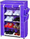 5 Layer Single-Door Detachable Mounted Simple Shoe Rack (SR05)