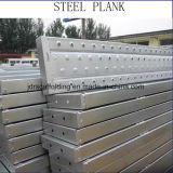 Safe Ringlock Scaffold Steel Plank / Platform / Board with Construction