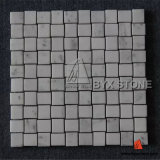 Polished Star White Marble Mosaics for Wall and Floor