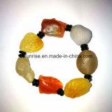 Natural Gemstone Carnelian Crystal Bracelet