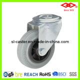"8"" Grey Rubber Industrial Castor Wheel (G102-32D200X50)"