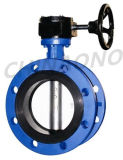 Gear Flange Type Flexible Triple Butterfly Valve