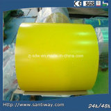 PPGI Hot Selling Yellow Prepainted Galvanized Steel Coil Sheet