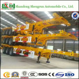 3 Axle Skeleton Semi Trailer for Container