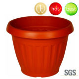 Plastic Flower Pot, Round Flower Pot, PP Planter PP (Bonsai Shell-Shaped)(D2000-D2012)