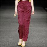 Western Style Waistline Harem Fashion Pants for Woman′s Clothes