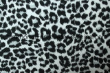 Terry Leopard Printing for Casual Garment