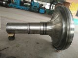 High Lift Alloy Steel Marine Rudder Tail Shaft Forging
